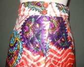 Size S Quilted Maxi Skirt