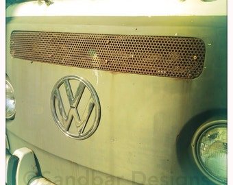 Charcoal VW bus