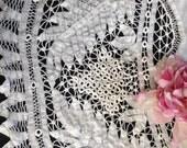 """Battenburg Lace Tablecloth 60"""" Round"""