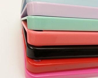 Plastic iPhone 5C Case, Plastic iPhone 5 Case, Case, Coral iPhone Case, Studded Phone Cases, iPhone 5C Case, Samsung Galaxy S4 Cases