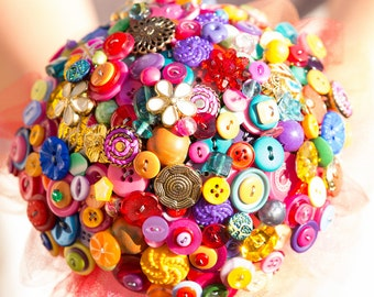 Button bouquet Indian Summer