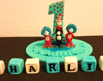dr seuss wedding cake toppers popular items for dr seuss cake on etsy 13753