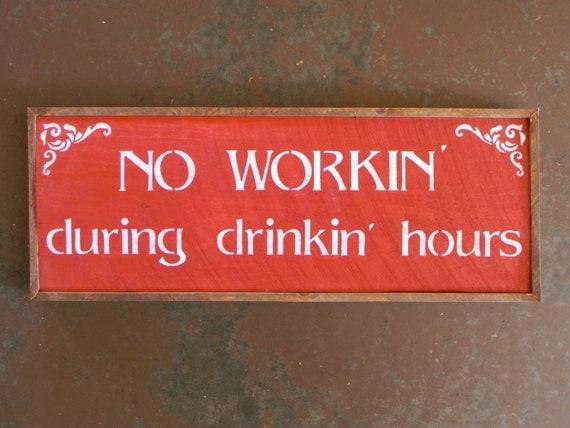 Bar sign pub saloon decor funny wood custom beer