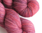 100% Merino superwash lace weight OOAK