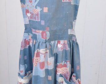 Handmade Cotton Women's Apron