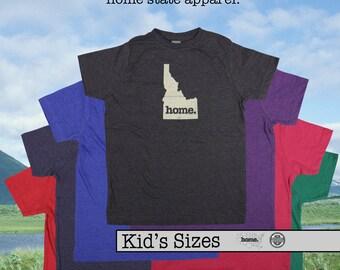 Idaho home tshirt KIDS sizes The Original home tshirt