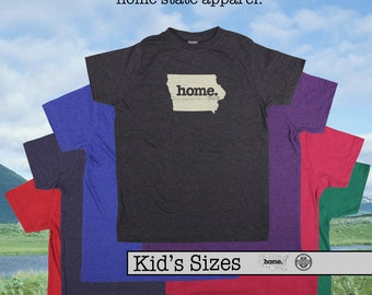 Iowa home tshirt KIDS sizes The Original home tshirt