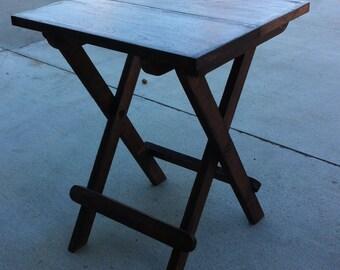 "Fold up table 16"" x 15"" x 20"" high"