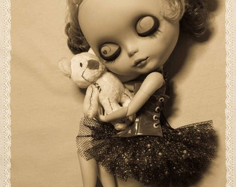 """A5 greeting card: """"Love me tender"""" - cocomicchi Blythe photography"""