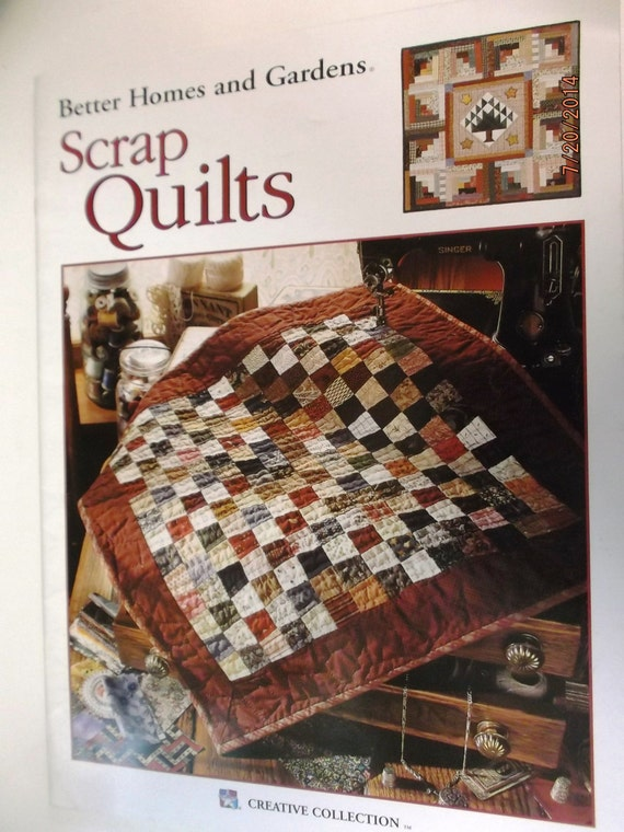 Better Homes And Gardens Scrap Quilts By Dakotajoyce On Etsy