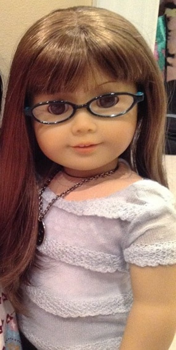 Ruffle Knit Top for American Girl dolls