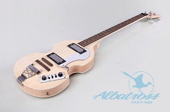 diy electric bass guitar kit set in flamed by albatrossguitars. Black Bedroom Furniture Sets. Home Design Ideas