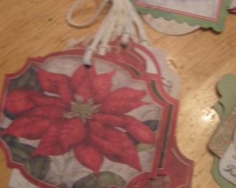 Holiday Gift Tags Assortment, Christmas Gift Tags Assortment, Assorted Gift Tags