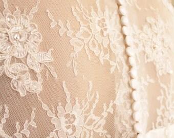 Imagine your long wedding dress  - custom made dress