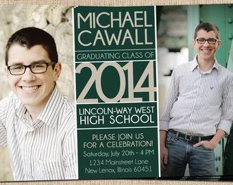Graduation Announcement - Printable Graduation Announcement