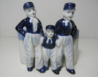 Porcelain Dutch Boy Planter