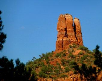 Sedona Arizona, Chimney Rock, Sedona Photography, Sedona Print, 8x10, Sedona Photograph,Arizona Photography,Arizona Print,Arizona Photograph