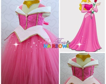 Sleeping Beauty Tutu dress- Sleeping beauty- Aurora dress- Sleeping beauty dress-Sleeping beauty costume