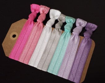 7 pieces Set Elastic Hair Ties