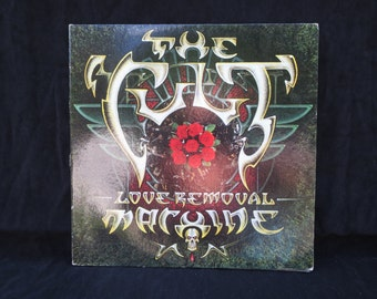 The Cult Love Removal Vinyl Records / Collectible Album vinyl music/ Vintage music The Cult collection