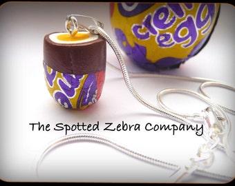 Funky Cadbury's (r) Creme Egg Pendant Necklace