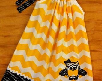 Hoot Owl Pillowcase Dress