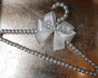 Pearl Bridal Hanger - Wedding Dress Hanger