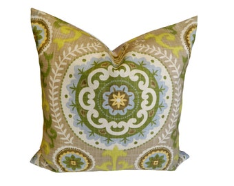 20''x20'' Waverly Inner Soul in Spa Decorative Pillow Cover
