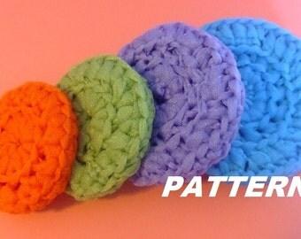 PATTERN Pot Scrubbers Crocheted