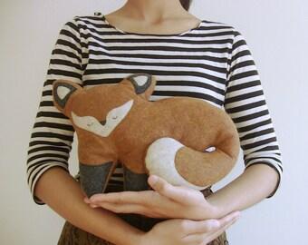 Plush Fox Doll ~ Stuffed Animal ~ Soft Pillow Creatures