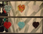 Fused Glass - Hearts Series 4x4