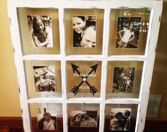 handmade window pane frame etsy