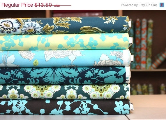 November SALE Amy Butler's 'Belle' Bundle in Teal