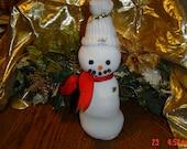 Sock Snowman - LadyBluesBaubles
