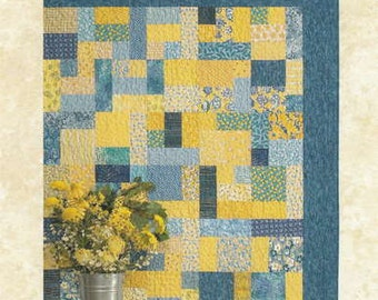 Fat Quarter Quilt Pattern - Yellow Brick Road by Atkinson Designs ATK 126
