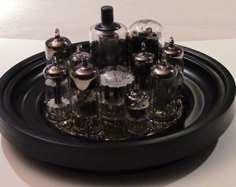 "Vacuum Tube Sculpture - ""City"""