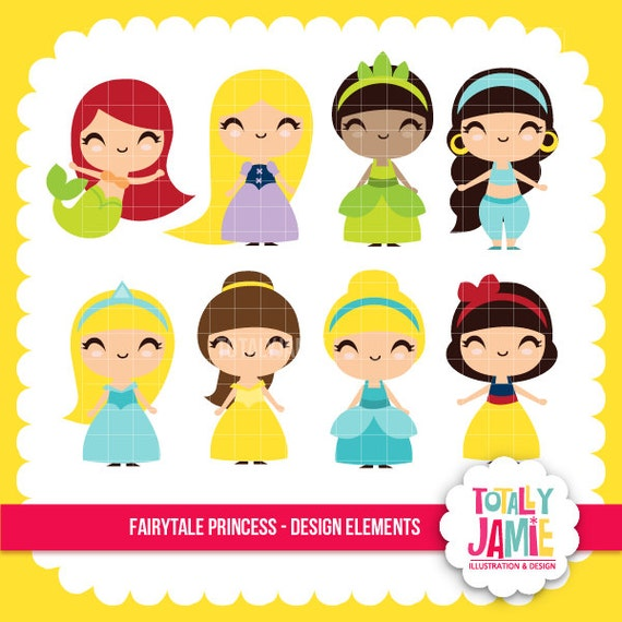 clipart princesas disney - photo #3