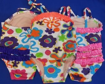 Sale - Crazy Mazy Baby Girls Swimsuit available in 3T and 4T
