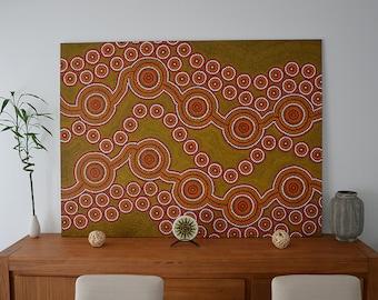 Tableau inspiration aborigène