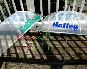 Personalized Childrens Dome Umbrella