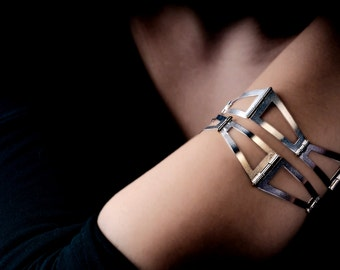 Architecture -  Architecture Bracelet - Architecture Jewelry - Architecture Silver