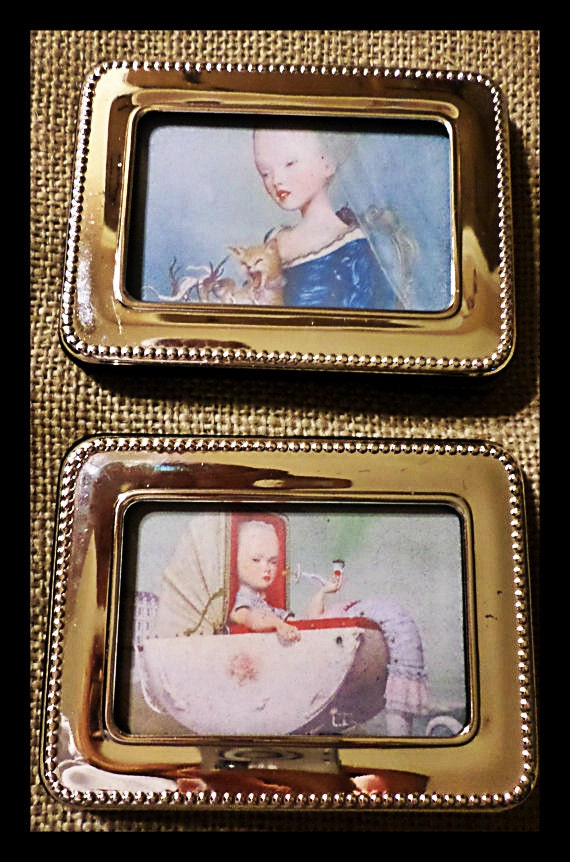 Holiday gift strange victorian small art by harmonylovegifts for Odd victorian names