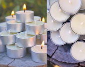 100 Tealights | Pure Beeswax Candles | l'essence