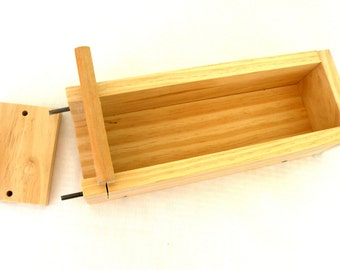 4 Pound Wooden Soap Mold - For Cold Process Soap