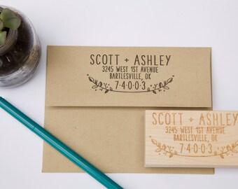 No. 3 Custom Return Address Stamp
