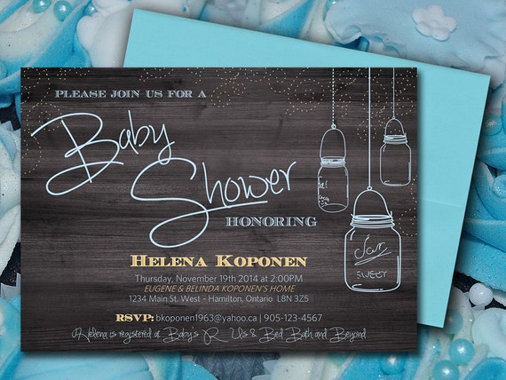 Baby Shower Invitation Template Mason Jar Baby Shower – Baby Shower Invitation Template Microsoft Word