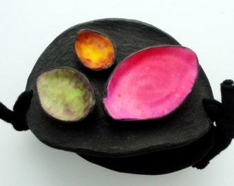 Polymer clay adjustable bracelet