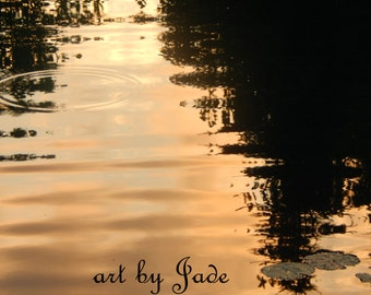 """Photograph titled, """"Sunsets Ripple"""""""
