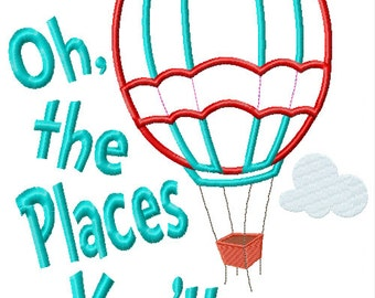 Popular Items For Oh The Places On Etsy