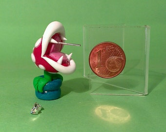 Mario Piranha Plant Stud Earrings